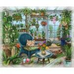 Ravensburger-16879 Exit Puzzle Winter Garden