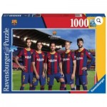 Puzzle  Ravensburger-16901 FC Barcelona