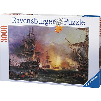 Ravensburger-17010 Jigsaw Puzzle - 3000 Pieces - Bombing on Alger