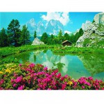 Ravensburger-17024 Jigsaw Puzzle 3000 Pieces - Dolomites