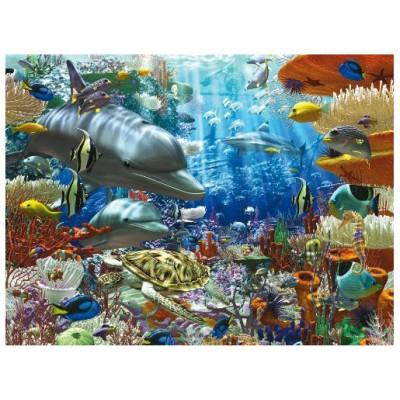 Ravensburger-17027 Jigsaw Puzzle - 3000 Pieces - Undersea Life