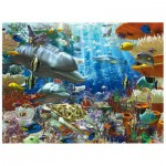 Ravensburger-17027 Jigsaw Puzzle - 3000 Pieces - Undersea Life