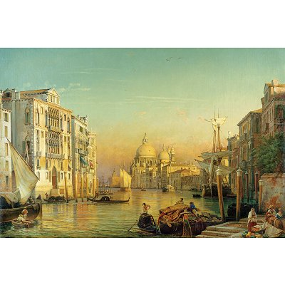 Ravensburger-17035 Jigsaw Puzzle - 3000 Pieces - High Canal in Venice
