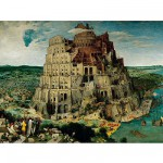 Ravensburger-17423 Jigsaw Puzzle - 5000 Pieces - Brueghel : Building The Tower of Babel