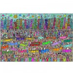 Ravensburger-17427 Jigsaw Puzzle - 5000 Pieces - James Rizzi : Nothing is as Pretty as a Rizzi City
