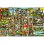 Puzzle  Ravensburger-17430 Colin Thompson's Bizarre Town