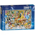 Puzzle  Ravensburger-17432 Mickey the Artist