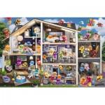Puzzle  Ravensburger-17434 Gelini - Dollhouse