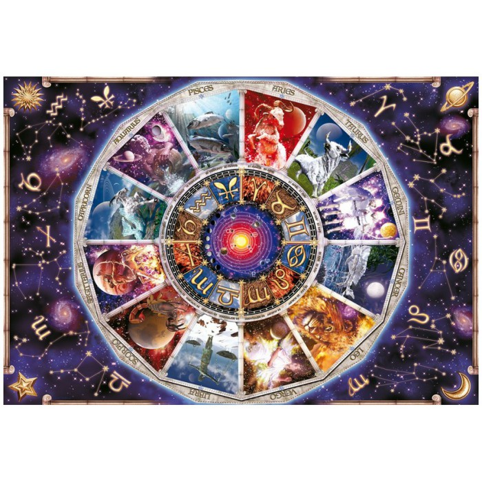 Jigsaw Puzzle - 9000 Pieces - Zodiac Signs