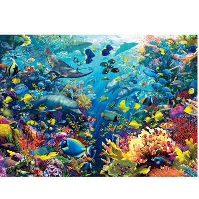 Ravensburger-17807 Jigsaw Puzzle - 9000 Pieces - Underwater World