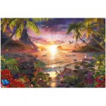 Ravensburger-17824 Jigsaw Puzzle - 18000 Pieces : Celestial Sunset