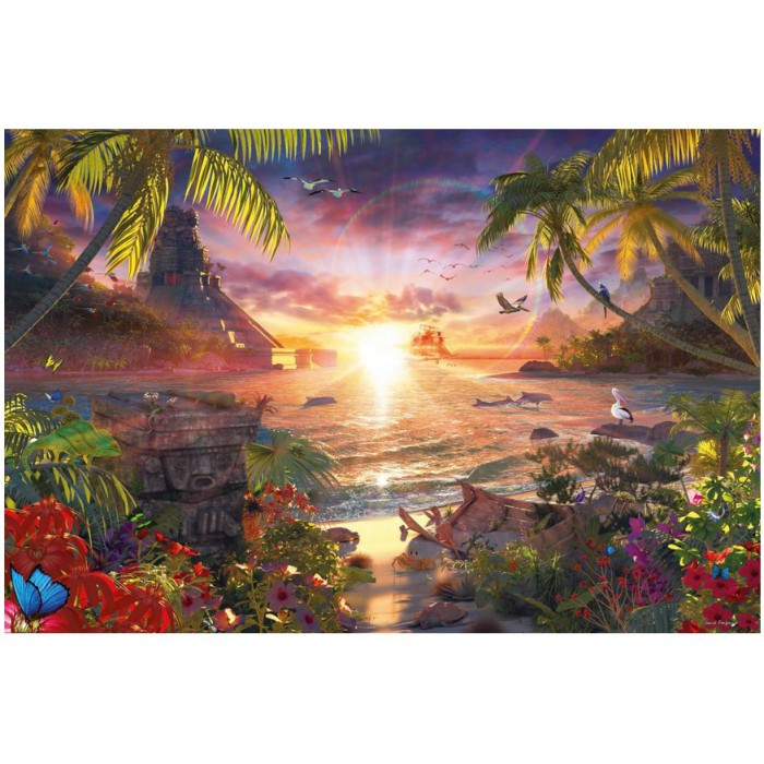 Jigsaw Puzzle - 18000 Pieces : Celestial Sunset