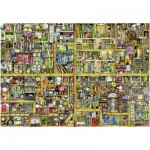 Puzzle  Ravensburger-17825 Colin Thompson: Magic library