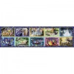 Puzzle  Ravensburger-17826 Unforgettable Moments Disney