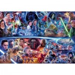 Puzzle  Ravensburger-17827 Star Wars Galactic Time Travel