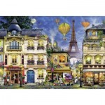 Puzzle  Ravensburger-17829 Evening walk in Paris