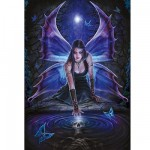 Ravensburger-19110 Jigsaw Puzzle - 1000 Pieces - Anne Stokes : Desire