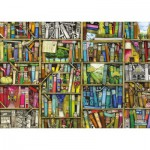 Puzzle  Ravensburger-19137 Colin Thompson: Magic library