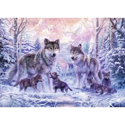 Puzzle Ravensburger-19146 Arctic wolves