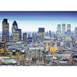 Puzzle  Ravensburger-19153 The Roofs of London