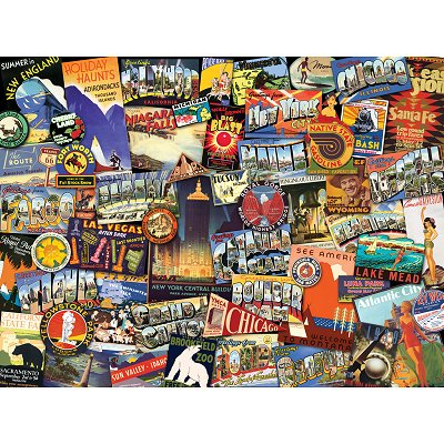 Ravensburger-19212 Jigsaw Puzzle - 1000 Pieces - On the Road !