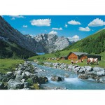 Ravensburger-19216 Jigsaw Puzzle - 1000 Pieces - Karwendel Mountains, Austria