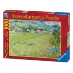 Puzzle  Ravensburger-19221 Vincent Van Gogh: Vessenots in Auvers
