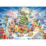 Ravensburger-19287 Jigsaw Puzzle - 1000 Pieces - Disney Christmas