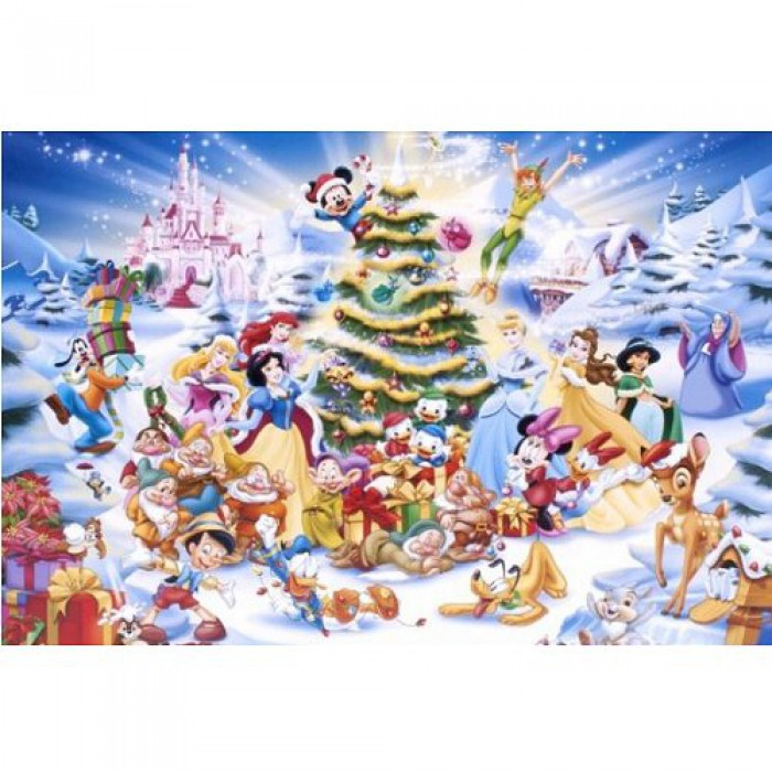 Jigsaw Puzzle - 1000 Pieces - Disney Christmas