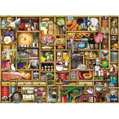 Puzzle Ravensburger-19298 Colin Thompson