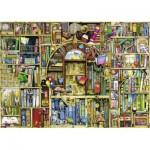 Puzzle  Ravensburger-19314 Bizarre Bookshop 2
