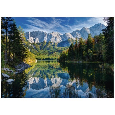 Puzzle Ravensburger-19367 Germany, Eibsee Lake