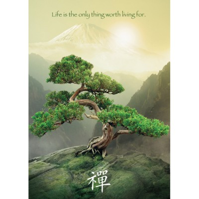 Puzzle Ravensburger-19389 The Zen tree
