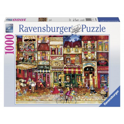 Puzzle Ravensburger-19408 Streets of France
