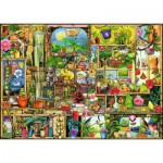Puzzle  Ravensburger-19482 Colin Thompson: Garden Shelf