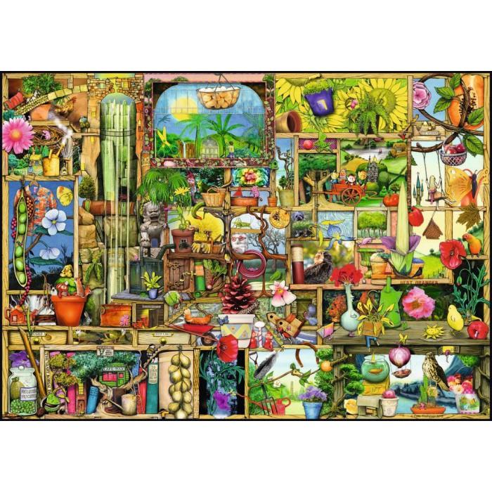 Colin Thompson: Garden Shelf