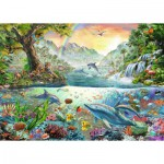 Puzzle  Ravensburger-19484 In Paradise