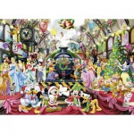 Puzzle  Ravensburger-19553 Disney - Christmas