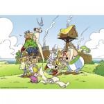 Puzzle  Ravensburger-19576 Asterix and Obelix