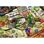 Puzzle  Ravensburger-19600 Fishing Fun