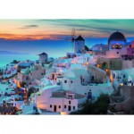 Puzzle  Ravensburger-19611 Evening on Santorini