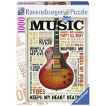 Puzzle  Ravensburger-19615 Passion for Music