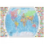 Puzzle  Ravensburger-19633 Political World Map