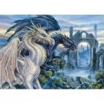 Puzzle  Ravensburger-19638 Mystic Dragon