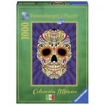 Puzzle  Ravensburger-19686 Calavera mexicana