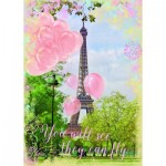 Puzzle  Ravensburger-19708 Eiffel Tower