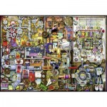 Puzzle  Ravensburger-19710 Colin Thompson : Inventor