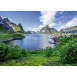 Puzzle  Ravensburger-19711 Lofoten Island