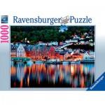 Puzzle  Ravensburger-19715 Bergen, Norway