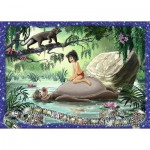 Puzzle  Ravensburger-19744 Disney - The Jungle Book